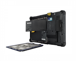 Getac F110 Rugged Tablet - Dual hot swappable batteries