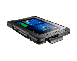 Getac T800 Rugged Tablet - Removal cover for I/O ports