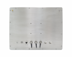 Waterproof Stainless Steel HMI Panel PC 7500 - Standard I/O configuration