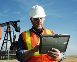 Getac K120 Rugged Tablet - Example of environment