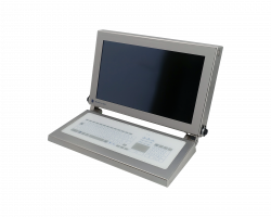 "21.5"" HMI Panel PC with Keyboard for Cleanroom"