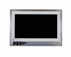 "21.5"" HMI Panel PC for in-wall mounting in cleanroom"