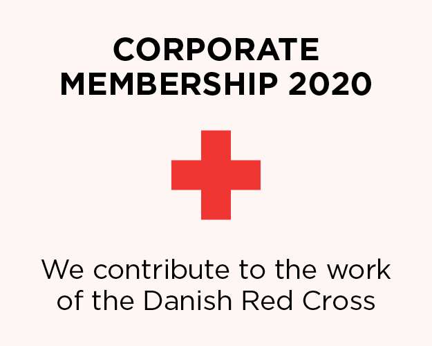The Red Cross corporate membership 2020 Blue Line