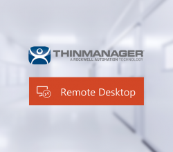 Thin Client support with ThinManager on Blue Line's HMIs and Panel PCs
