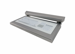 Antibacterial Touch Keyboard in Stainless Steel Housing