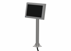 Pedestal or table mounting with optional tilt and swivel