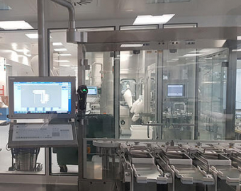 HMI in cleanroom